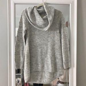 Sweaters - Gray tunic sweater